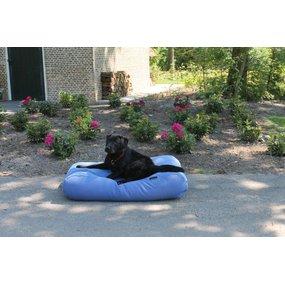 Dog's Companion® Hundebett Manhattan Blau Leinen