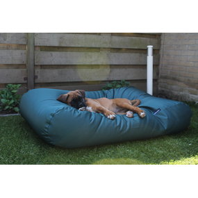 Dog's Companion® Hundebett Grün (Beschichtet) Superlarge