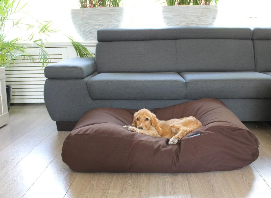 Hundebett Schokolade Braun Large