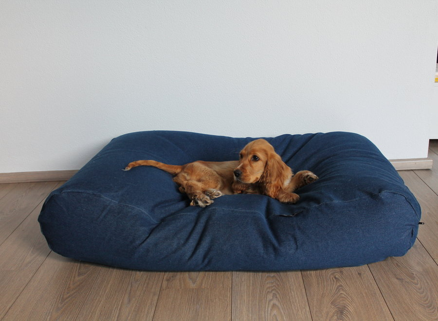 Hundebett Jeans Medium
