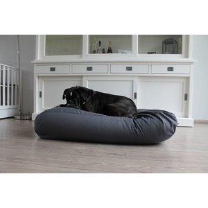 Dog's Companion® Hundebett Granit Grau Baumwolle Medium