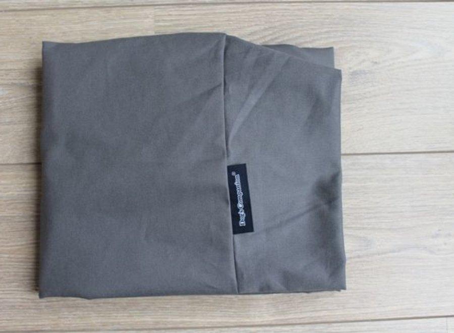 Bezug Granit Grau Baumwolle Medium