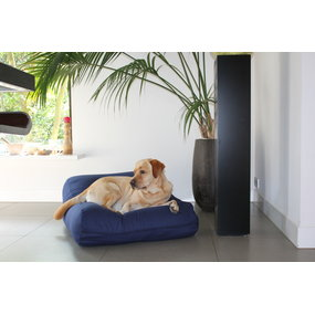 Dog's Companion® Hundebett Dunkelblau Small