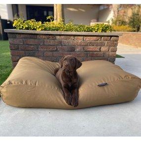 Dog's Companion® Hundebett Khaki (Beschichtet) Medium