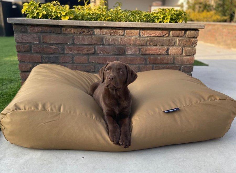 Hundebett Khaki (Beschichtet) Medium