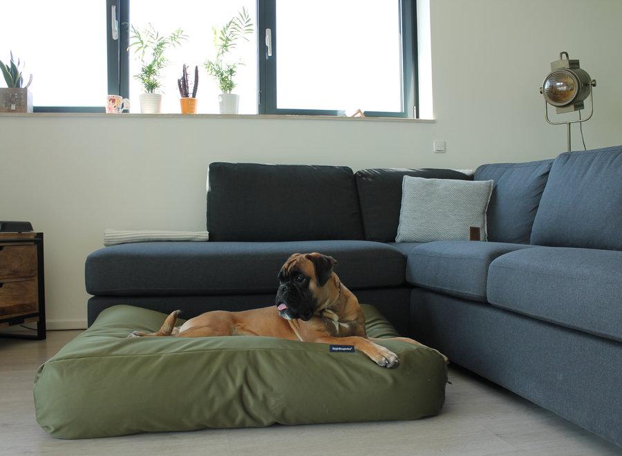 Hundebett Olivgrün (beschichtet)