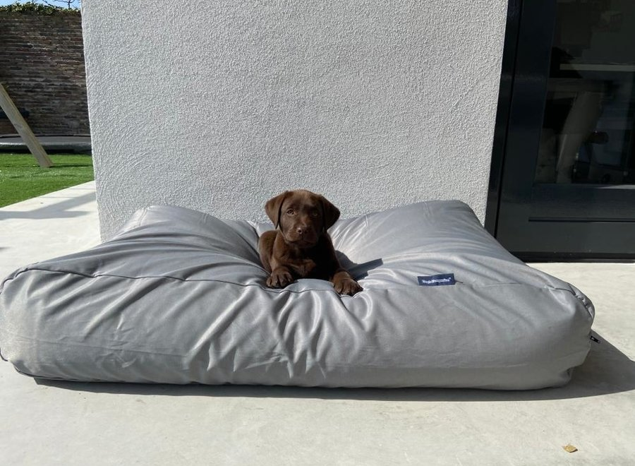 Hundebett Hellgrau (beschichtet) Medium