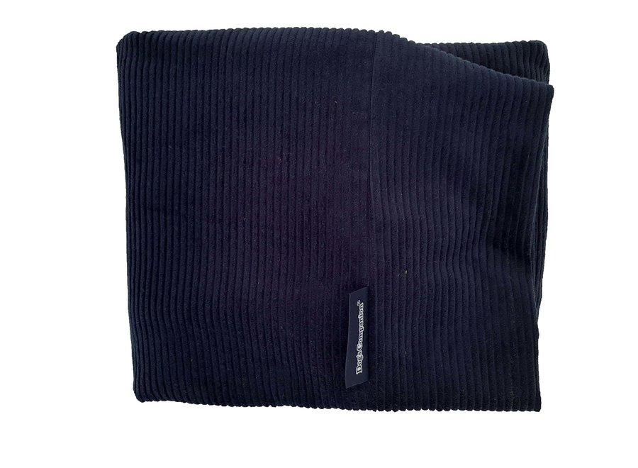 Hundebett Dunkelblau (Cord) medium