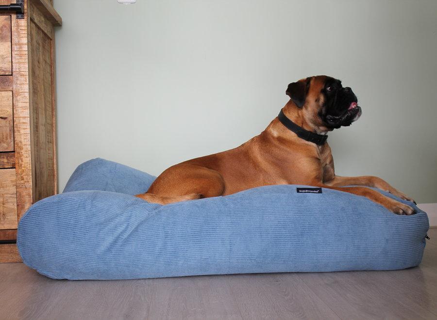 Hundebett Hellblau (Cord)