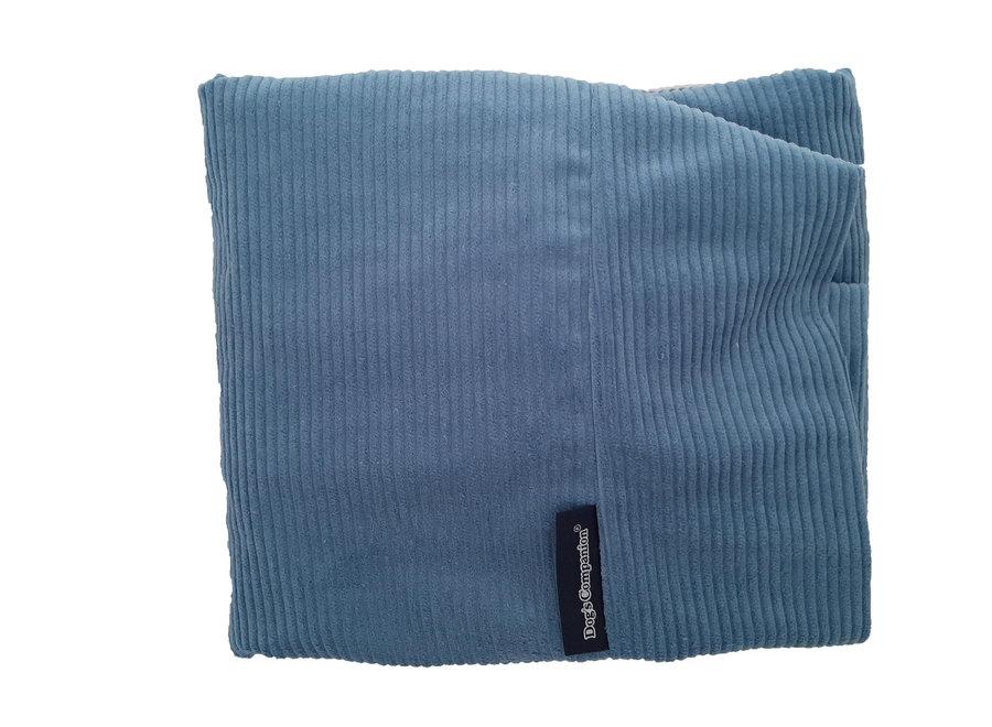 Hundebett Hellblau (Cord) medium