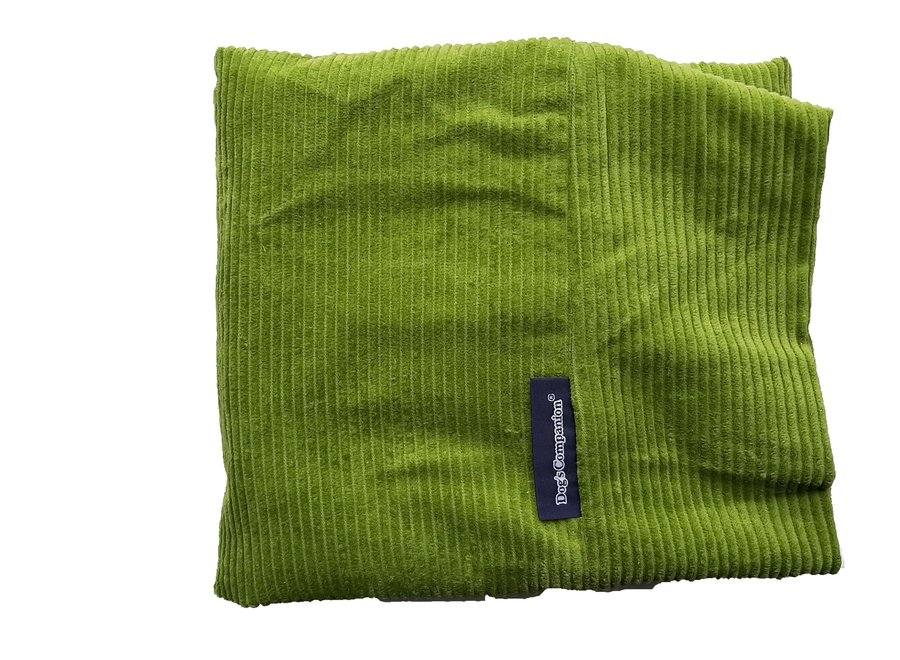 Hundebett Apfelgrün (Cord) medium