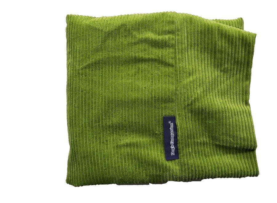 Hundebett Apfelgrün (Cord) superlarge