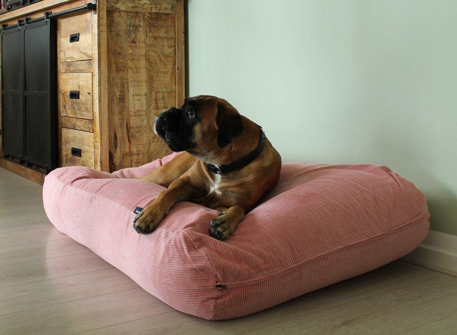 Hundebett Alt Rosa (Cord) superlarge