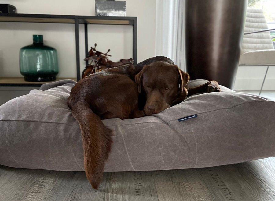 Hundebett Stone washed brown