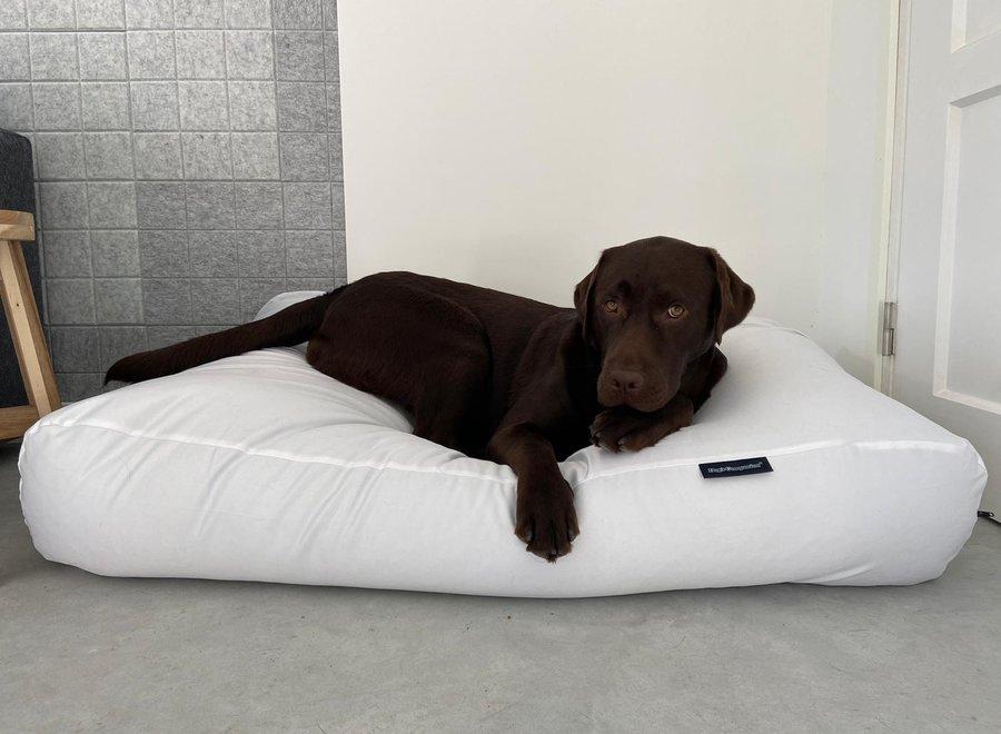 Hundebett Weiß beschichtet