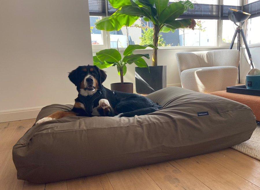 Hundebett Flieder/Braun Medium