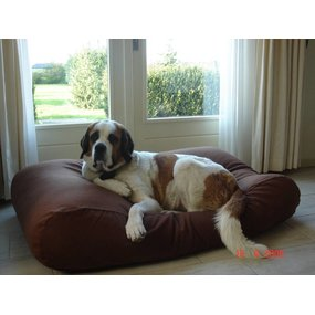 Dog's Companion® Hundebett Schokolade Braun Small