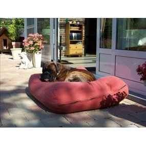 Dog's Companion® Hundebett Kaminrot Small