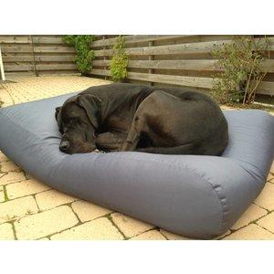 Dog's Companion® Hundebett Stahlgrau (Beschichtet) Medium