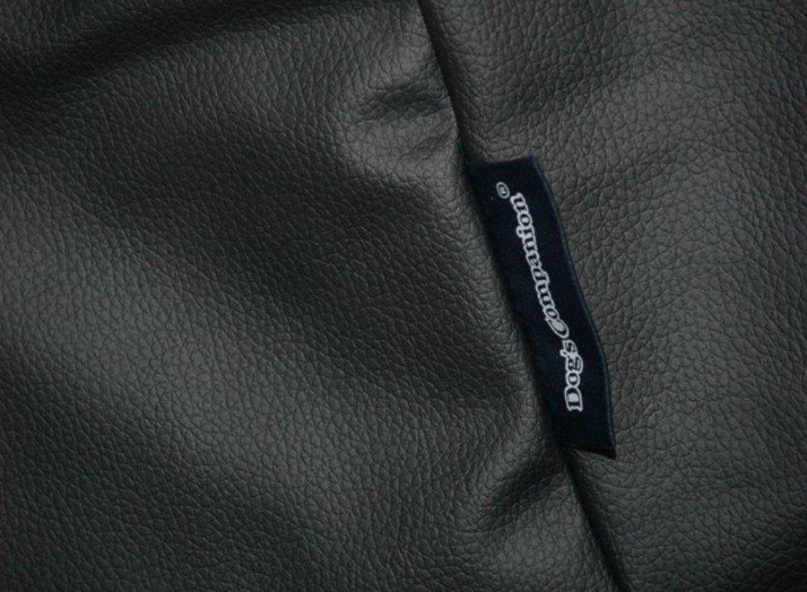 Bezug Schwarz Leather Look Small
