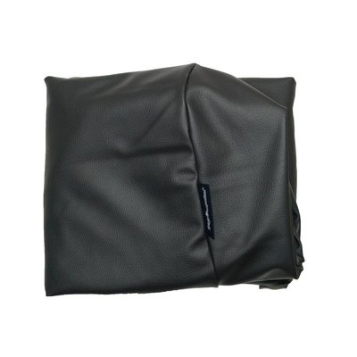 Dog's Companion® Bezug Schwarz Leather Look Superlarge