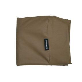 Dog's Companion® Bezug Taupe Leather Look Superlarge