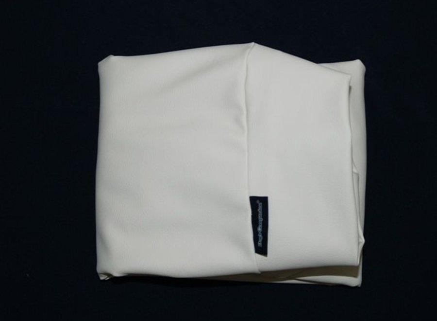 Bezug Ivory Leather Look Medium
