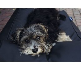 Dog's Companion® Dog bed black leather look
