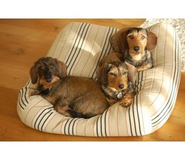 Dog's Companion® Dog bed Country Field (stripe)