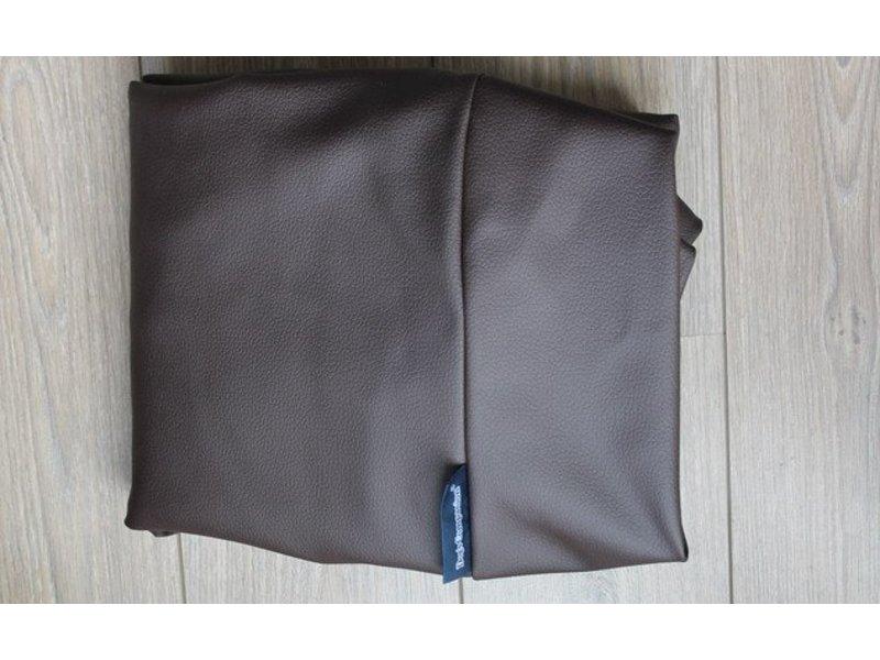 Dog's Companion® Hundebett Schokolade Braun Leather Look