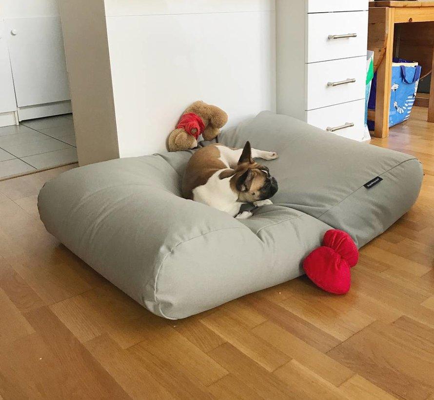 Hundebett Hellgrau