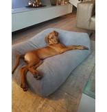 Dog's Companion® Hundebett Mausgrau (Cord)