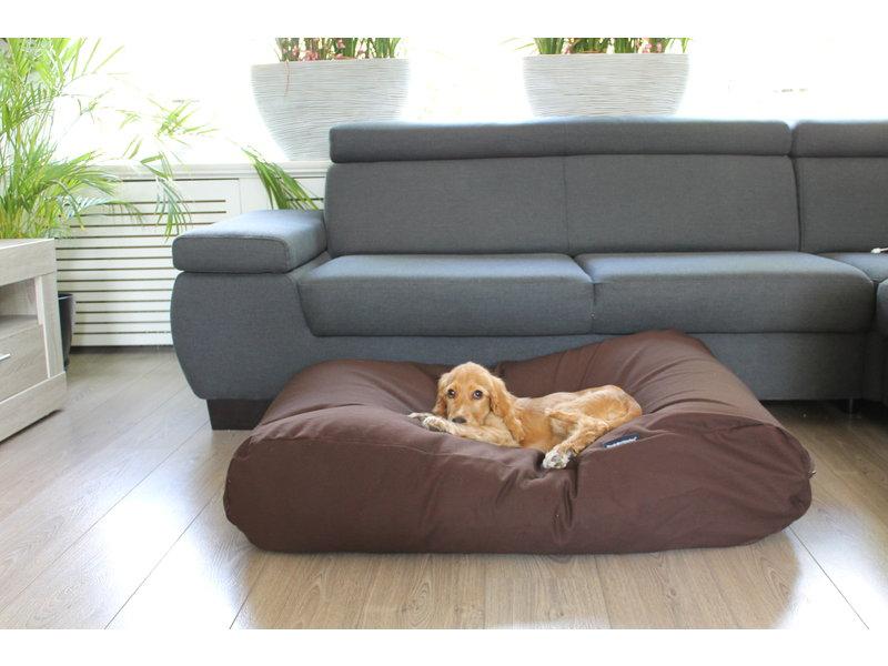 Dog's Companion® Hundebett Schokolade Braun
