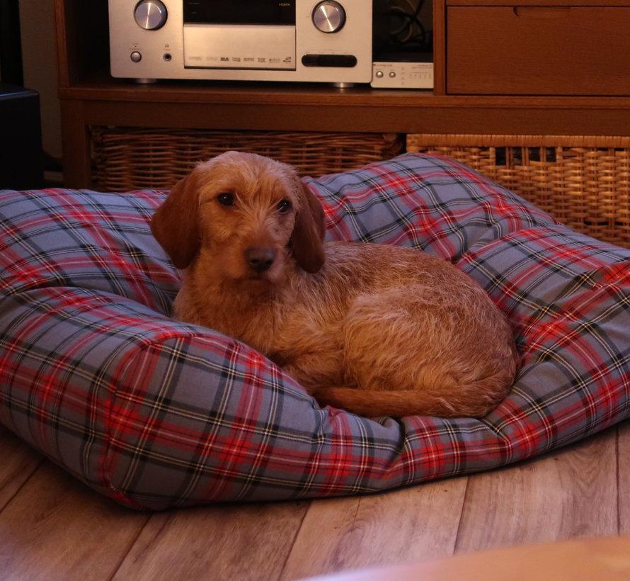 Hundebett Scottish Grau