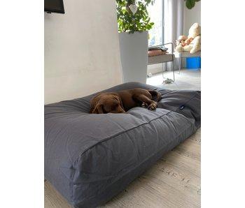 Dog's Companion® Hundebett Granit Grau Baumwolle