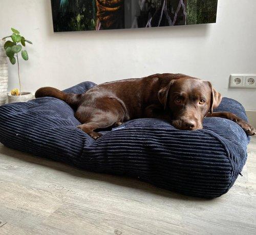 Dog's Companion® Hundebett Midnight Blue giant corduroy