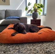 Dog's Companion® Hundebett Orange giant corduroy