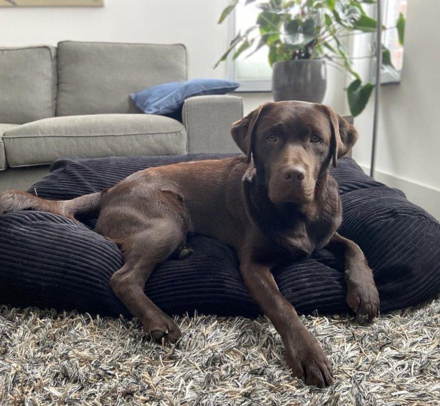 Hundebett Black Giant Corduroy