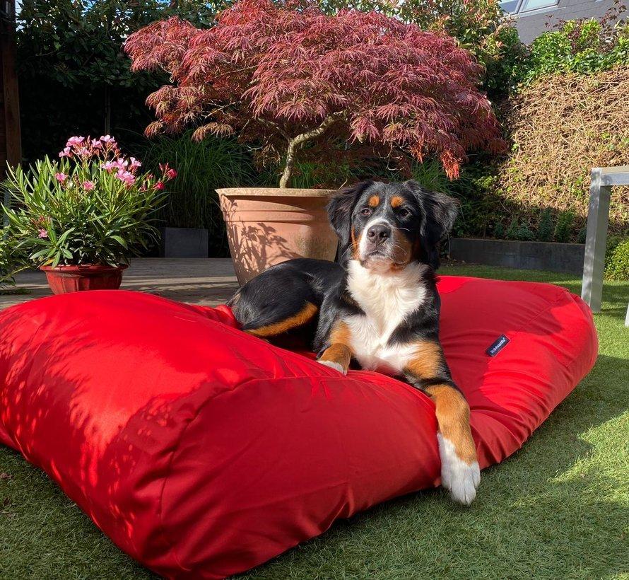 Hundebett Rot (beschichtet)