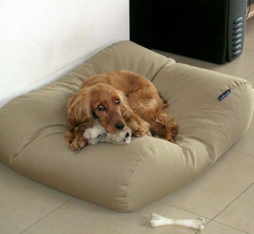 Hundebett Beige