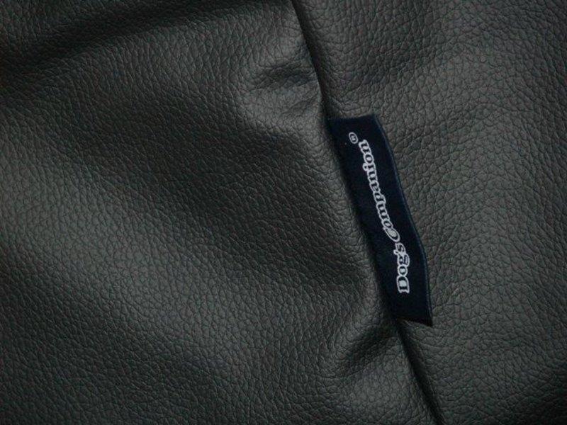 Dog's Companion® Bezug Schwarz Leather Look