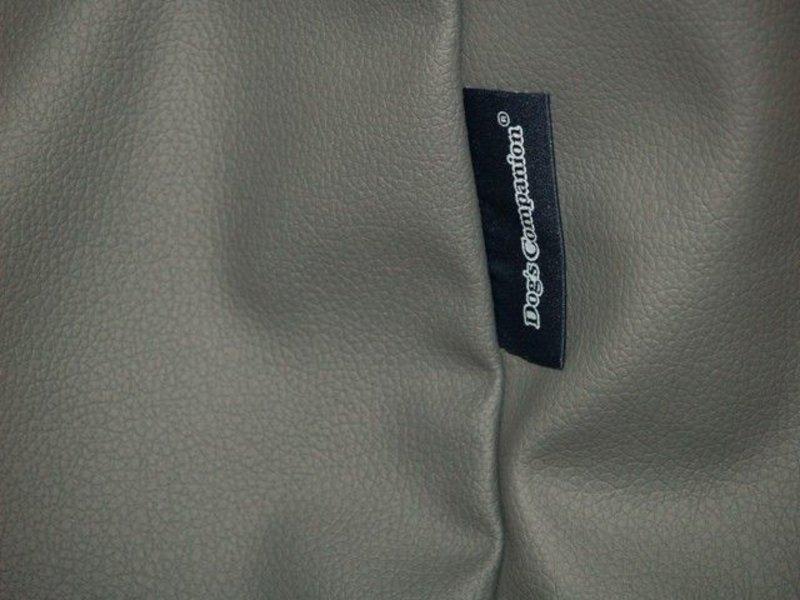 Dog's Companion® Bezug Mausgrau Leather Look