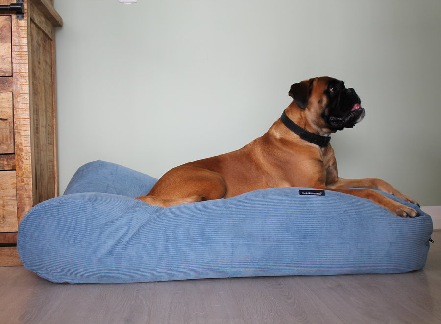 Hundebett Hellblau Corduroy