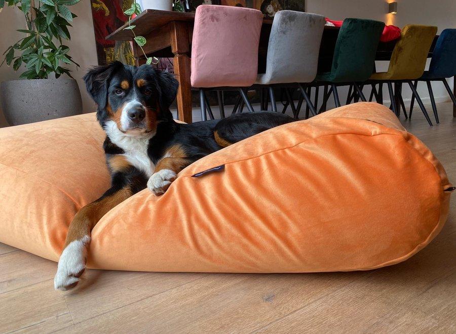 Hundebett Peach Samt