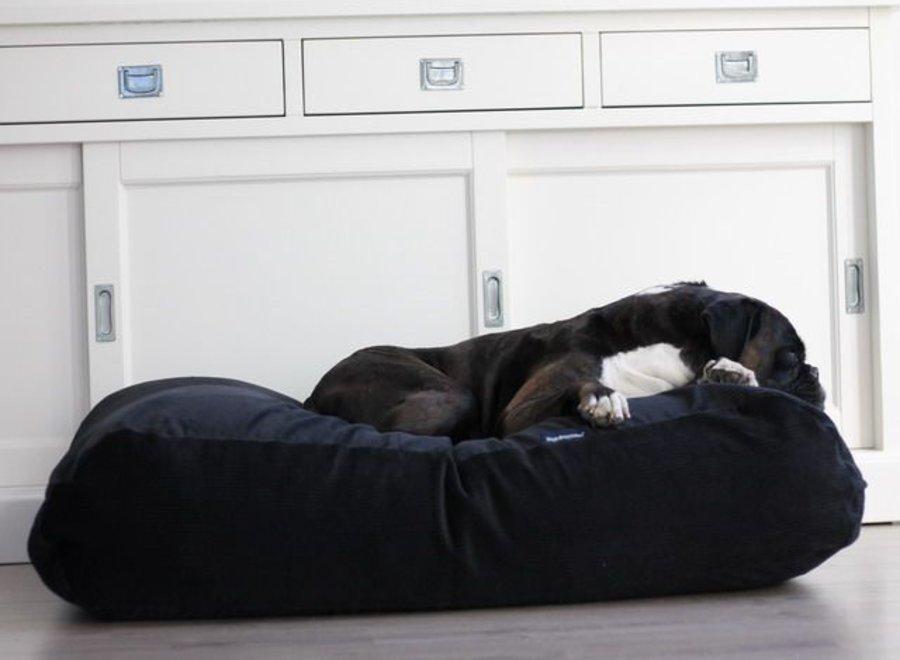 Hundebett Schwarz (Cord)