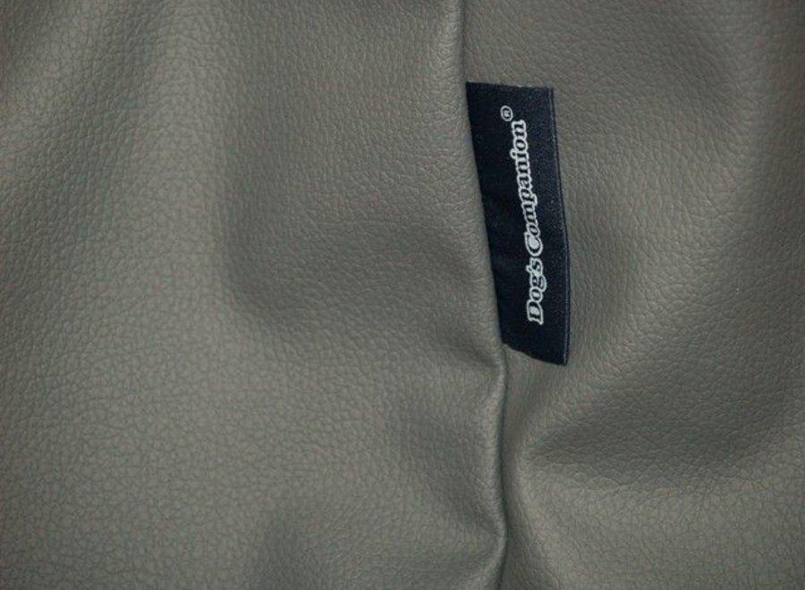Bezug Mausgrau leather look