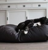 Dog's Companion® Lit pour chien chocolat leather look Small
