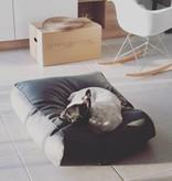 Dog's Companion® Lit pour chien Noir leather look Superlarge