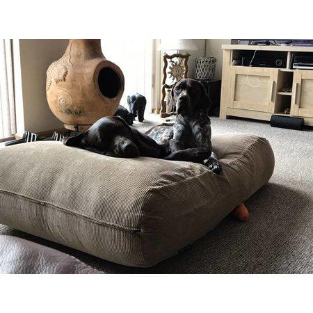 Dog's Companion® Lit pour chien Chameau (corduroy) Large