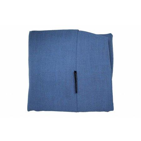 Dog's Companion® Lit pour chien Manhattan bleu lin Superlarge